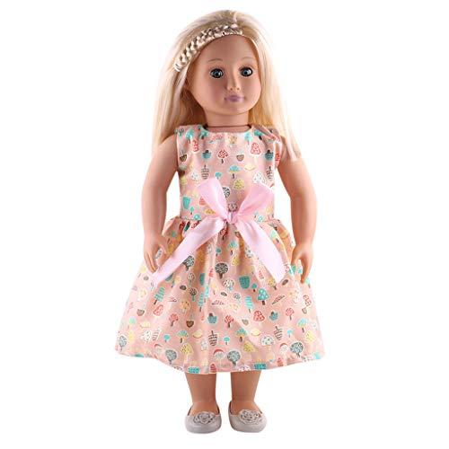 Doll Ken Kostüm - Zolimx Sommer Schönes Kleidungs Kleid for 18 Inch American Doll Zubehör Mädchen Spielzeug