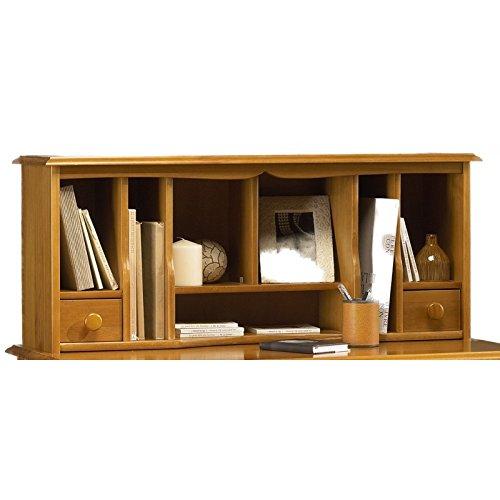 Beaux Meubles Pas Chers Schönen Möbel Nicht Liebe–Schreibtischaufsatz für Tisch zu schreiben English Style Kiefer Honig 38151
