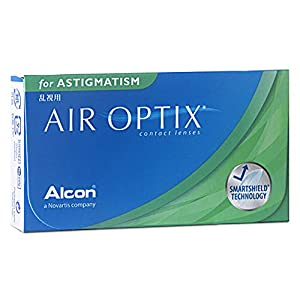 Alcon Air Optix For Astigmatism weich, 6 Stück / BC 8.7 mm / DIA 14.5 mm / CYL -0.75 / ACHSE 160 / + 2 Dioptrien
