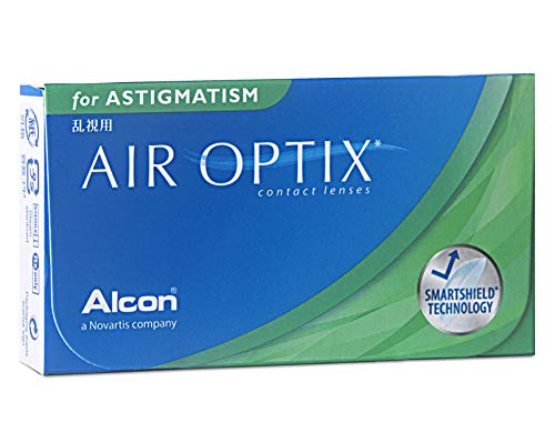 Alcon Air Optix for Astigmatism  weich, 6 Stück / BC 8.7 mm / DIA 14.5 mm / CYL -1.25 / ACHSE 180 / -2.25 Dioptrien