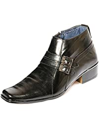 Kivalo Stylish Premimum Genuine Leather Elegant Black Slip On/Formal Shoe For Men - B07DFLZR4G