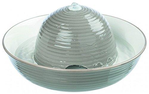 *Trixie Trinkbrunnen Keramik, Vital Flow 1,5 l grau/weiß*