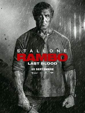 Rambo : Last Blood - Sylvester Stallone - French Movie Wall Poster Print - 43cm x 61cm / 17 Inches x 24 Inches A2 -