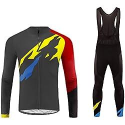 Uglyfrog Modo Sport Fuera Thermal Fleece Invierno De Manga Largas de Ciclismo Maillots + Bib Pantalones Larga De Bicicletas Bodies Triatlón Ropa CXMZ01