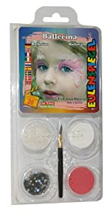 Eulenspiegel - Pintura facial unisex a partir de 3 años (204870)
