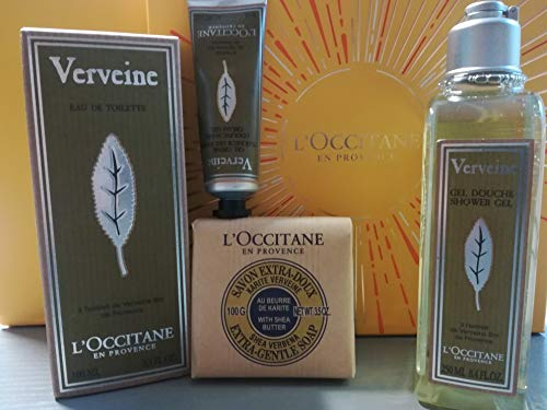L'Occitane Refreshing Verbena Star Gift Set - shower for sale  Delivered anywhere in Ireland