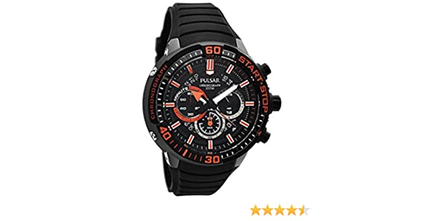 Men's Date Watches X With Chronograph Pulsar Display Watch zMVSGqUp