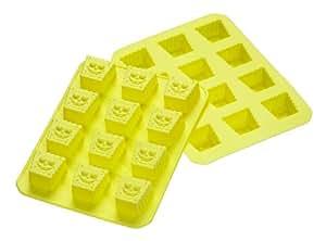SpongeBob 13651 2-er Set Silikon Eiswürfelbereiter