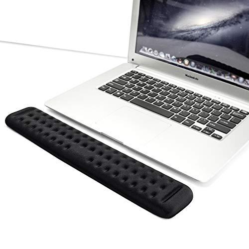 Tastatur Handballenauflage Gaming Tenkeyless Memory Foam Handfläche Handballenauflage Unterstützung für Büro, Computer, Laptop, Mac Tippen und Handgelenk Schmerzlinderung und Reparatur (36 cm)
