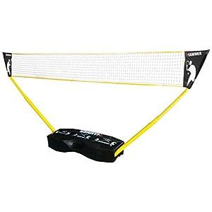 Hammer 3 in 1 Netze-Set – Mobiles Volleyball-, Badminton- und Tennisnetz