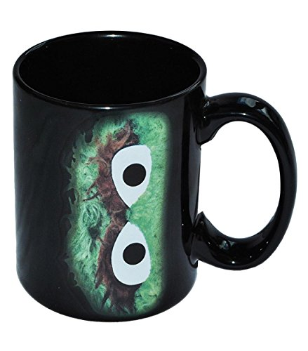 Sesamstrasse Tasse Oscar Kaffeetasse Keramik Becher I Love Trash!