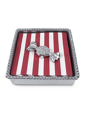 MARIPOSA Peppermint Perlen Serviette Box Mariposa Serviette