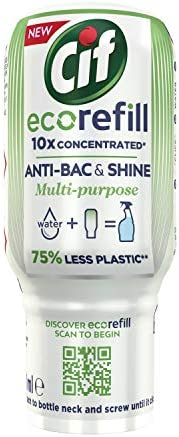 Cif Antibac and Shine ecorefill Multipurpose Disinfectant Cleaner 70 ml