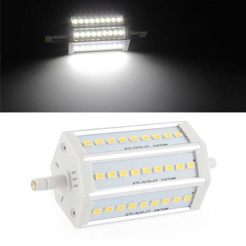 Preisvergleich Produktbild SODIAL(R) 10W R7S J118 SMD5630 LED Leuchtmittel Lampe Strahler Fluter 118mm Dimmbar Weiss
