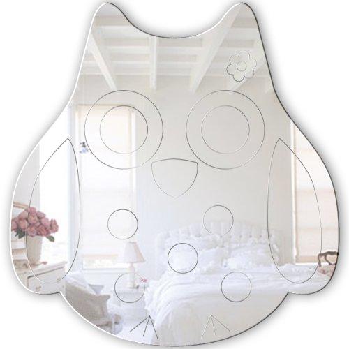 Mungai Mirrors Eule Acryl-Spiegel (45cm)