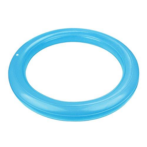 Trideer Ballschale / Anti-Burst Aufblasbaren Ring mit Pumpe Set Kit für Gymnastikball von 65 bis 85cm Durchmesser (Nur Ring)