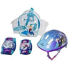 Frozen - Bolsa con casco, rodilla y codo pads (DArpèje OFRO004)