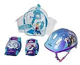 Disney Frozen OFRO004 - Set Casco con Ginocchio e Pad Gomiti con Borsa per pattini