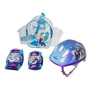 41XK2bklThL. SS300  - Frozen - Bolsa con casco, rodilla y codo pads (D'Arpèje OFRO004) para niña