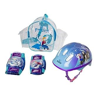 41XK2bklThL. SS324  - Frozen - Bolsa con casco, rodilla y codo pads (D'Arpèje OFRO004) para niña
