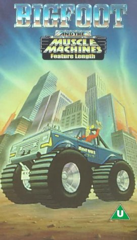 Preisvergleich Produktbild Big Foot and the Muscle Machines [VHS]