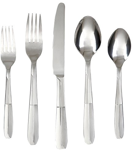 Cambridge Nico Frost 45-Piece Buffet Server Flatware Set by Cambridge Silversmiths - Cambridge-server