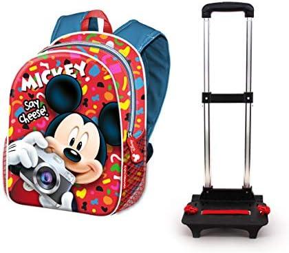 Karactermania Mickey Mouse Mouse Mouse Say Cheese-Zaino Basic con trolley stile casual, 48 cm, 18,2 litri, multiColoreeee | Di Modo Attraente  | all'ingrosso  071513