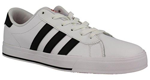 adidas DAILY - Zapatillas deportivas para Hombre, Blanco - (FTWBLA/NEGBAS/ESCARL) 44 2/3