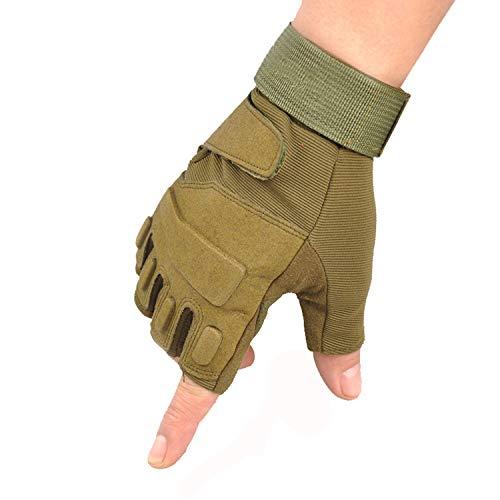 Nosterappou Protection extérieure des Paumes réduisant Les blessures à la Main. Gants de Fitness résistants à l'usure. Gants d'équitation antidérapants. (Couleur : Green, Taille : XL)