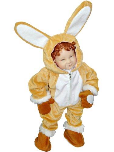 (Hasen-Kostüm, J44 Gr. 86-92, für Babies und Klein-Kinder, Häschen-Kostüm, Hasen-Kostüme Hase Kinder-Kostüme Fasching Karneval, Kinder-Karnevalskostüme, Kinder-Faschingskostüme, Geburtstags-Geschenk)