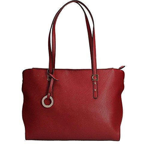 RoccoBarocco ROBS2AE01 Shopping Bag Donna Rosso