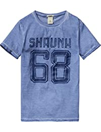 Scotch Shrunk Jungen T-Shirt Tee with Special Washing & Artworks