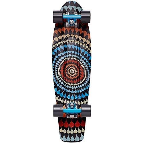 Penny Cruiser Skateboard, Unisex, Erwachsene, Mehrfarbig, 27