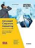 Advanced Corporate Accounting (General) B.Com III-Year VI-Sem (DSE) As Per the 2016-17 Syllabus of (O.U) CBCS, Latest 2019 Edition