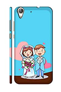 AMAN Marriage 3D Back Cover for Honor 5A