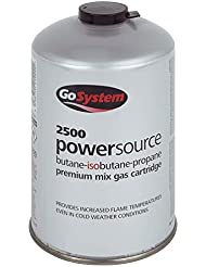 GoSystem Cartridge 220 Gm B/P Mix Botella de Gas, Unisex, Negro, Talla Única