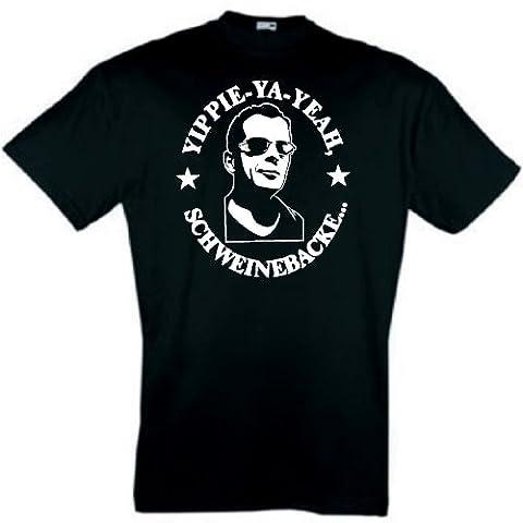 Bruce Willis T-Shirt Stirb langsam Schweinebacke