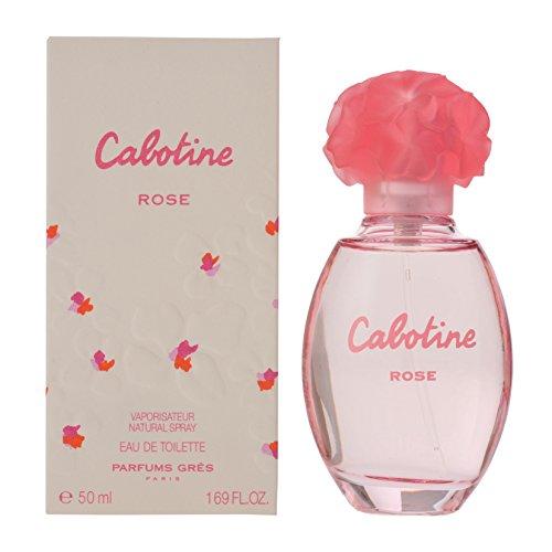 Parfums Gres Cabotine Rose 50 ml Eau de Toilette Spray pour vous, 1er Pack (1 x 50 ml)