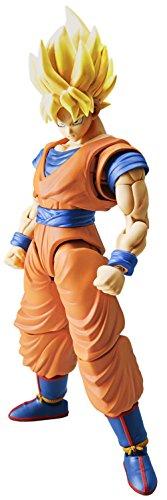 FIGURERISE Standard Dragon Ball Super Saiyan Son Goku BANDAI Maqueta M