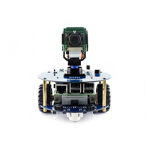 Wendi, kit per costruire il tuo robot AlphaBot2, ideale per Raspberry Pi 3 Modello B con RPI3 B, scheda madre AlphaBot2-Base, fotocamera RPi (B), ecc.