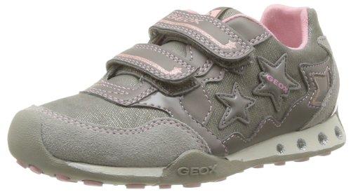 Geox JR NEW JOCKER GIRL C J42G2C0DY22C5005 Mädchen Sneaker, Beige (DK BEIGE C5005), EU 32