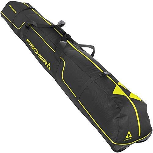Fischer - Erwachsene Skicase Alpine Race 3 Pair, schwarz/gelb, 190 cm, 190cm -