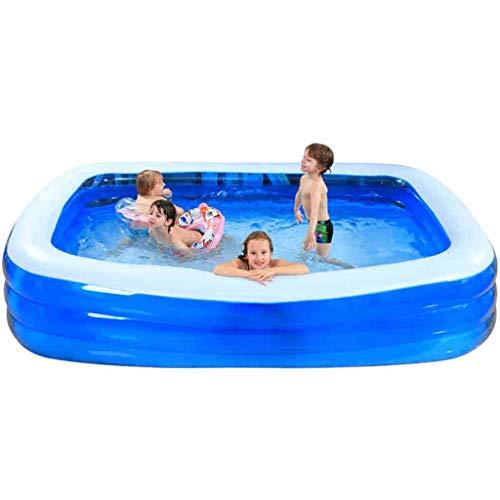 asbarer Swimmingpool, breiter aufblasbarer Familienaußenpool, Eigenschaftspool, Erwachsener aufblasbarer Pool für Sommerfest ()