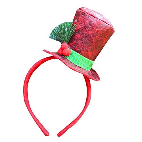 Class-Z Geweih Stirnband,Weihnachtsschmuck,Weihnachten Hirsch Rentier Geweih Haarband Urlaub Geburtstag Party Head Hair Band Accessoires für Kinder