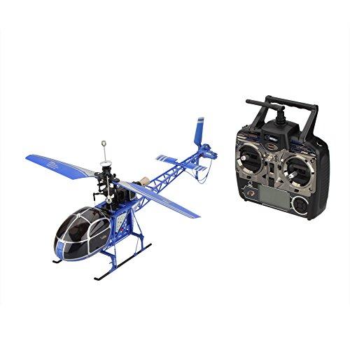 WLtoys V915 Seeker 2.4G 4CH RC Hubschrauber RTF Lama Hohe Simulations Gelb / Rot / Blau