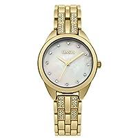 Oasis damesdatum klassiek kwarts horloge met aluminium armband B1619