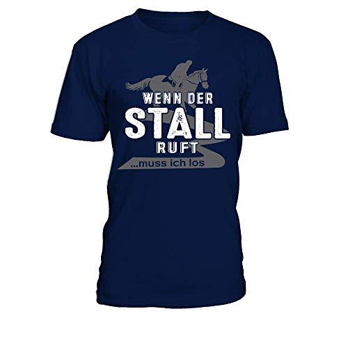 Pferd Shirt · Pferde · Reiten · Reiterin · Reitsport · Springreiten · Pferdehalt Männer T-Shirt -