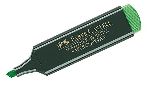 Faber-Castell 154863 - Textmarker Textliner 48, nachfüllbar, grün