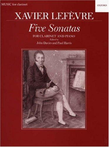 Five Sonatas (Oxford Music for Clarinet) Xavier University
