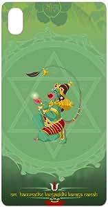 Karyasidhi Hanuman Back Cover Case for Sony Xperia Z1 / L39H